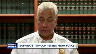 Police Commissioner Daniel Derenda retires