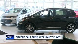 Electric cars gaining popularity in WNY