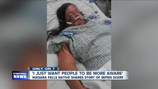 Niagara Falls native shares story of sepsis