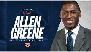 Auburn officially names Allen Greene new AD