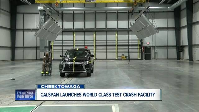 Calspan unveils multi-million dollar crash lab facility