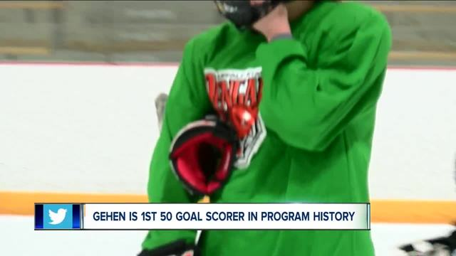 Erin Gehen making mark on Buffalo State Women-s hockey program