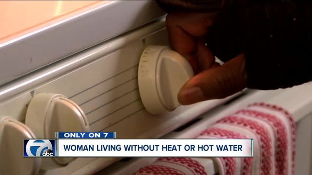 70-year old living in BMHA housing without heat or hot water