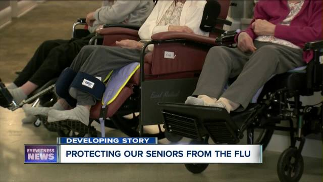 Elderwood protecting the elderly from the flu