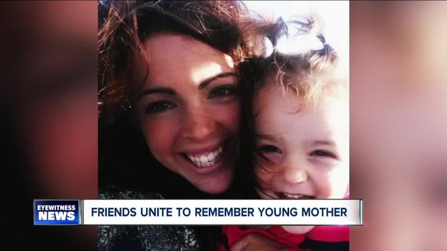 friends unite to remember young mother