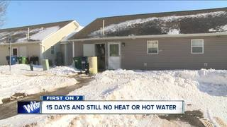 Help arrives for woman without heat, hot water