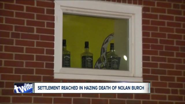 Settlement reached in hazing death of Nolan Burch