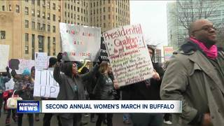 Women's March held in Buffalo