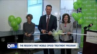 Ribbon cutting for new mobile opioid treatment