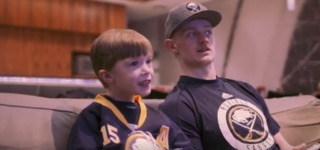 Wish comes true for 7-year-old Sabres fan