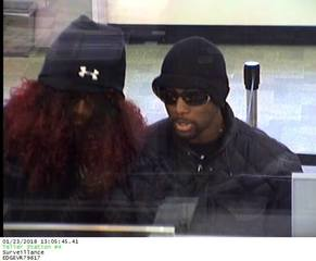 Police searching for Riverside bank robbers