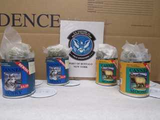 CBP finds pot hidden in