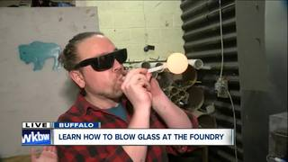 Learn a hot new skill: Glass blowing