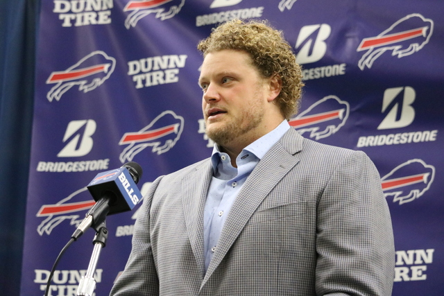 Buffalo Bills center Eric Wood calls it a career, without officially retiring