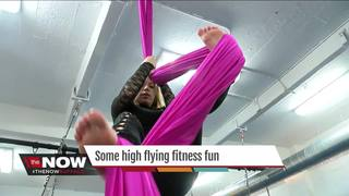 High flying, gravity defying fitness fun