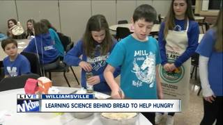 Students learn to bake to feed the hungry