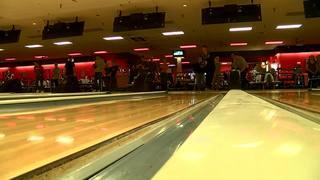 Alex Rzepka bowls Alden's first perfect game,...