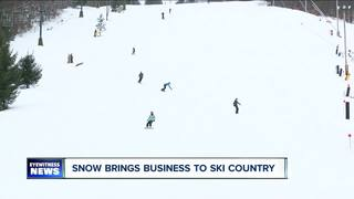 Snow brings good business to ski country