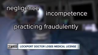 I-TEAM: Lockport doctor loses medical license