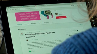 Moms using web to meet, support each other