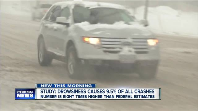 Drowsy driving responsible for nearly 10% of crashes, study shows