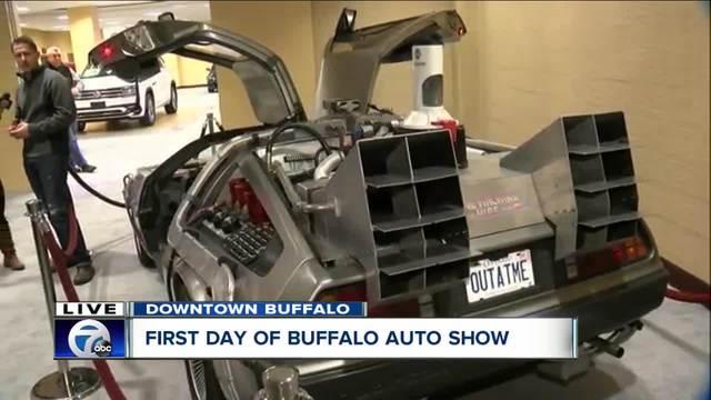 Buffalo Auto Show Starts At Buffalo Niagara Convention Center WKBW - Buffalo car show
