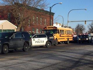 Girl cut by pocket knife on Buffalo school bus