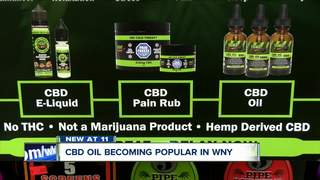 CBD oil growing in popularity in WNY
