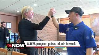 'WOW' program puts students to work