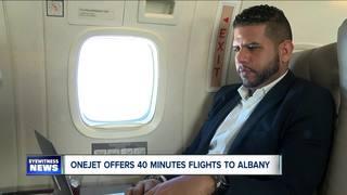 Non-stop flights between Buffalo and Albany