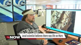 Local scientist has evidence of life on Mars