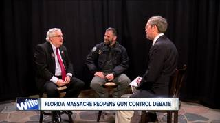 Florida shooting reopens gun violence debate