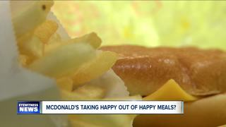 Taking the happy out of Happy Meal?