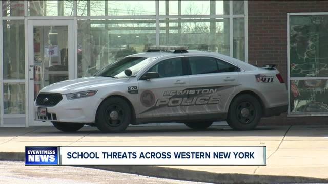 Reacting to -copycat- school threats in WNY