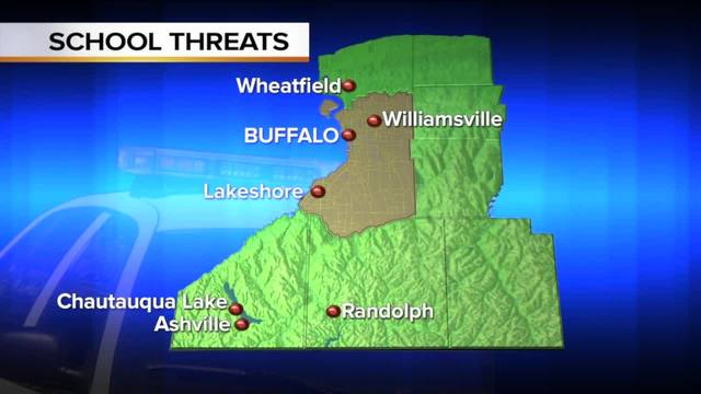 Reacting to -copycat- school threats in WNY--6pm