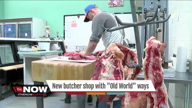 New butcher shop using -Old World- ways