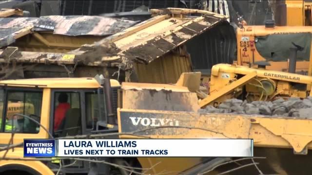 Train derailment update pkg
