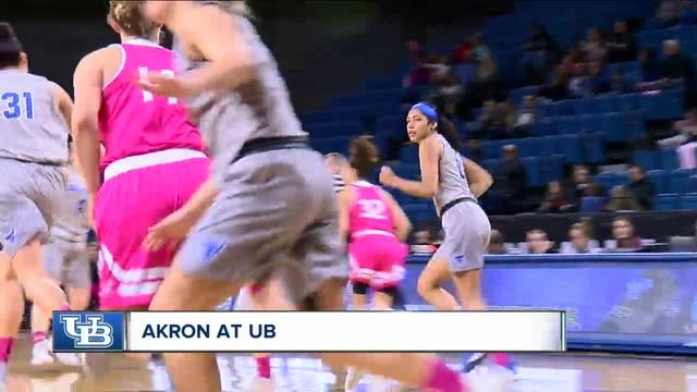 UB women earn 1st round bye in MAC Tournament