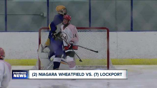 Section VI large school boys hockey semifinals set
