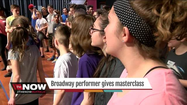 Broadway comes to WNY High School