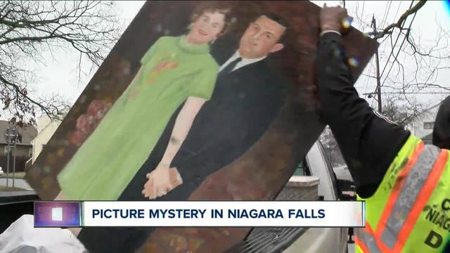 NF mystery paintings