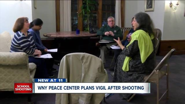 WNY Peace Center plans vigil after shooting