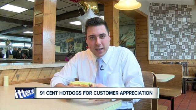 Ted-s could sell 50k hotdogs for customer appreciation day