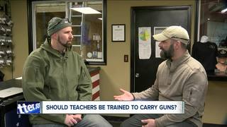 Should teachers be trained to carry a gun?