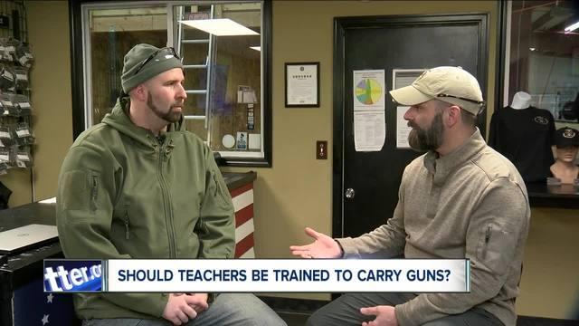 Grand Island Company trains teachers to carry guns in classroom