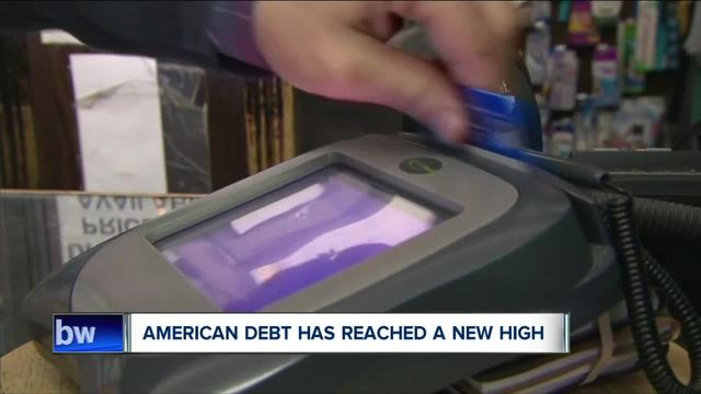 American debt has reached a new high