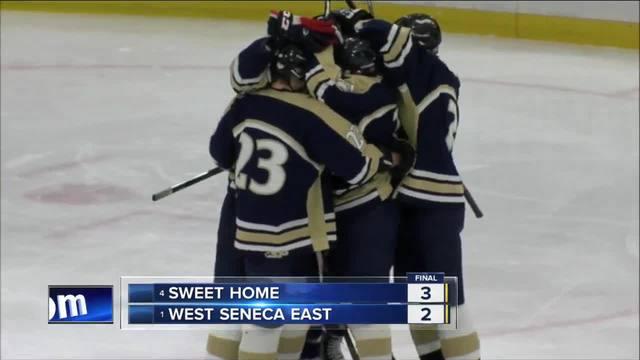 Section VI small school boys hockey quarterfinals