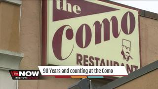 Celebrating 90 years at the Como Restaurant