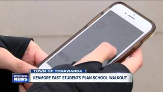 Kenmore East students planning school walkout