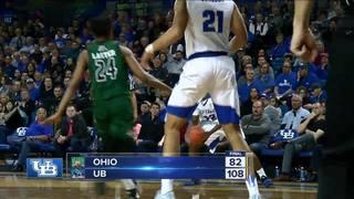 UB men and women down Ohio, seedings nearly...